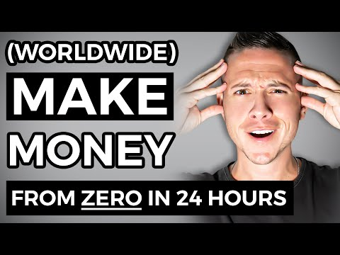 Make $100 in 24 Hours from ZERO! Available Worldwide | Make Money Online
