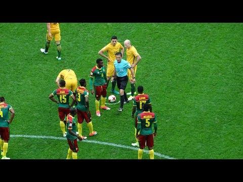 Cameroon 1:1 Australia / Камерун 1:1 Австралия с трибуны Санкт-Петербург Арены