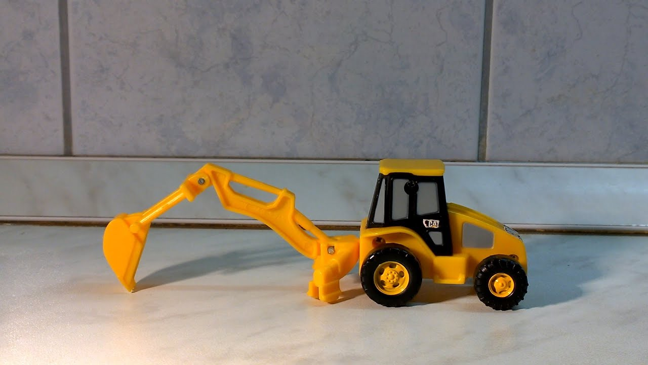 Digger Toys For Boys : Awesome excavator for kids and boys toy bagger