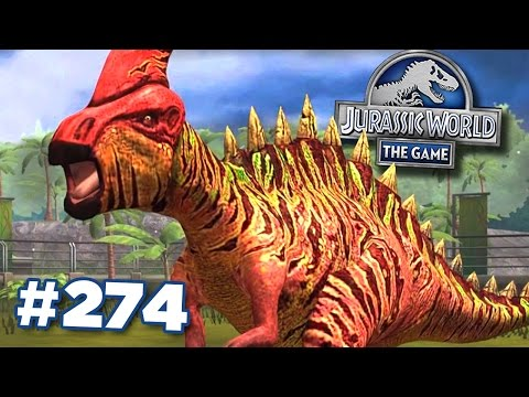 The Herbivore That Hits Back Zalmoxes! || Jurassic World - The Game - Ep274 HD