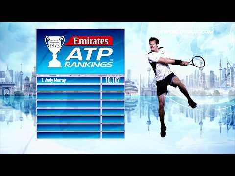 Emirates ATP Rankings Update 15 May 2017