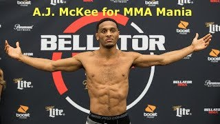 "A.J. McKee Wants to Tame ""Pitbull"" and ""Wolf"" After John Macapa"