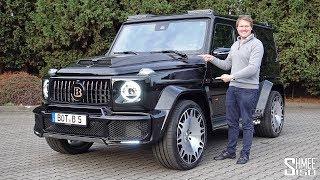 The Brabus 700 G63 Widestar is a Mercedes-AMG G Wagon on STEROIDS! thumbnail