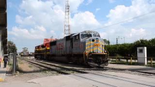 KCS Lines Rodeando las Gringas EMD SD70 Series en Empalme Escobedo, Guanajuato. México NOAS_5