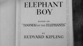 Elephant Boy (1937) title sequence