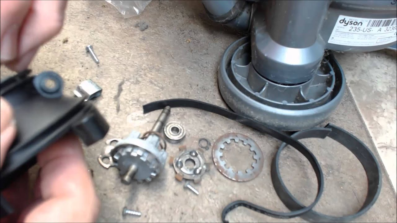 Replace The Clutch Belts Dyson Dc07 Dc14 Or Dc33 Video Youtube Animal Parts Diagram