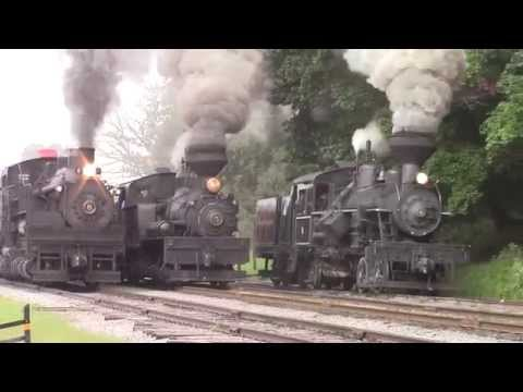 "USA Steam Tour 2014 ""Cass Scenic Railroad"""