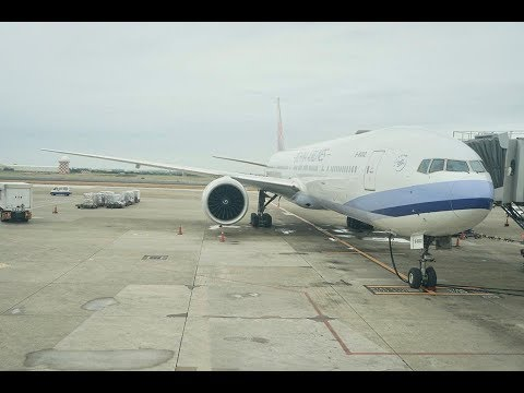 China Airlines B777-300ER Experience: CI721 Taipei to Kuala