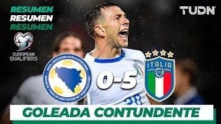 Resumen y Goles   Liechteinstein 0 - 5 Italia   UEFA European Qualifiers   TUDN