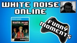 """White Noise Online Funny & Scary Moments w/ Vanoss, Delirious, and fourzer0seven!  """"Indie Game"""""""