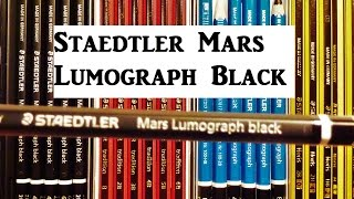 NEW! Staedtler Mars Lumograph Black Pencil Review, Tradition, Noris Pencils