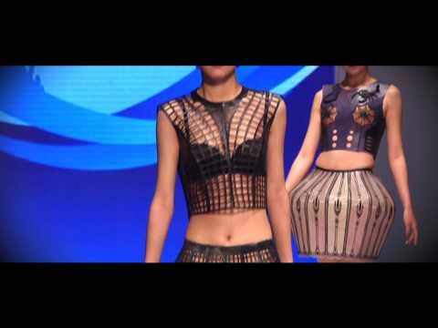 Anyprint 3D-printed Dresses at China (Qingdao) International Fashion Week