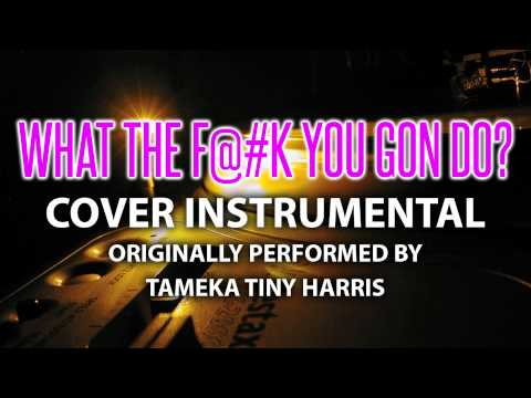 What the F@#k You Gon Do?  Instrumental In the Style of Tameka Tiny Harris