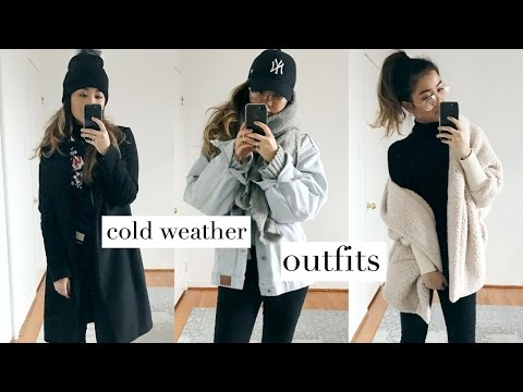 COLD WEATHER OUTFITS + HOW TO LAYER!   rachspeed