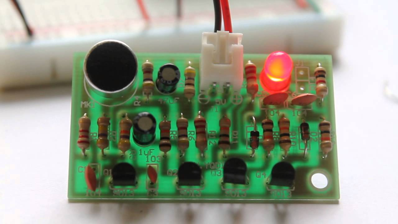 Build A Simple DIY Clap Switch Build Circuit - Clap sensitive on off relay