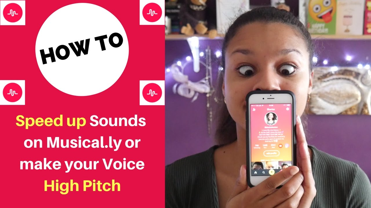 how to make your voice higher