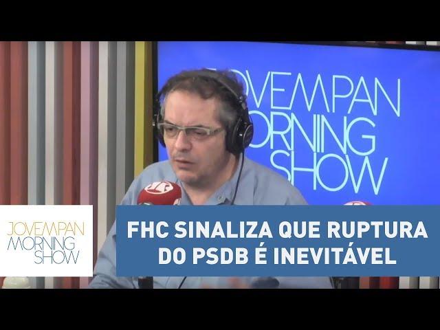 """Tognolli: """"FHC sinaliza que ruptura do PSDB é inevitável para ter uma identidade política"""""""