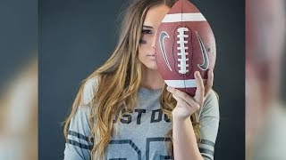 Becca Longo: First female football player with scholarship playing in Colorado