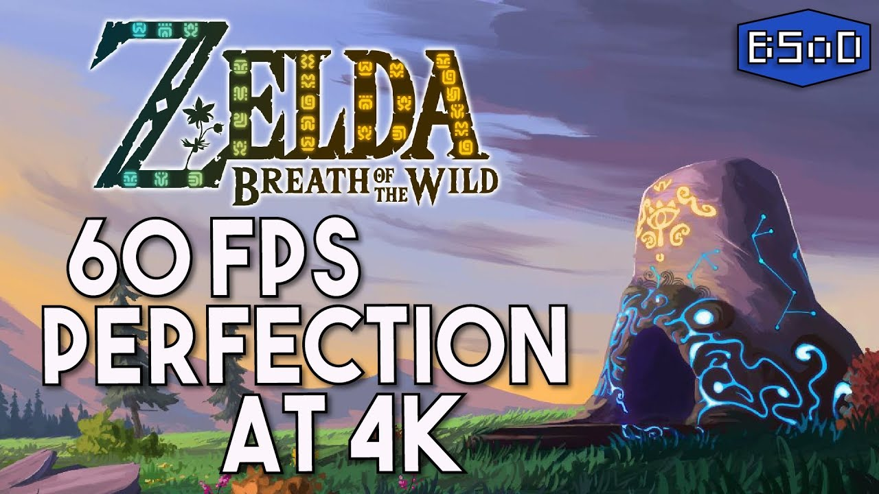 The Legend of Zelda Breath of the Wild | 60 FPS at 4K is Perfection [Cemu  1 15 0]