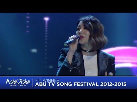 Asiavision 2017    My Winners ABU TV Song Festival 2012-2016
