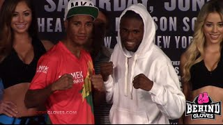 Walters comes in overweight! FULL WEIGH IN FOOTAGE: Walters vs Marriaga/ Verdejo vs Najera