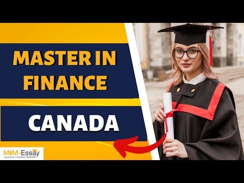 MSc  Finance In Canada | Top Universities | Tuition Fees | Job Prospects