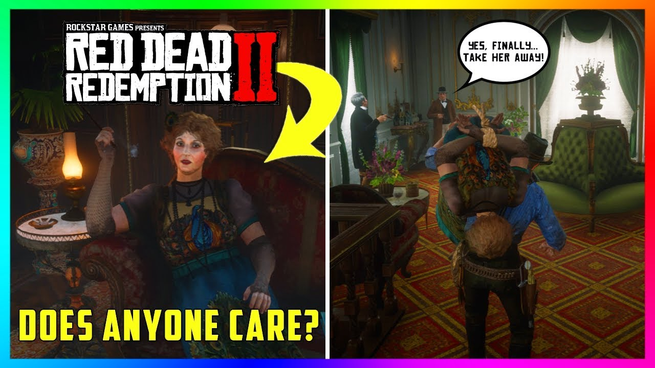 Download What Happens If You Kidnap The Annoying Lady Inside The Saint Denis Saloon In Red Dead Redemption 2?