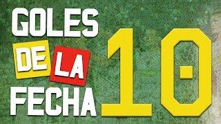 Goles de la fecha 10 Liga Aguila 2018 II