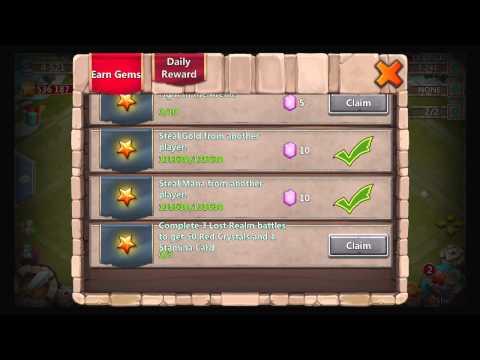 Castle Clash - Fastest Way To Get Gems (Free)