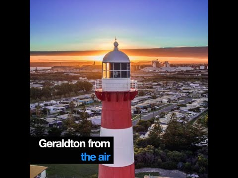 Geraldton from the air