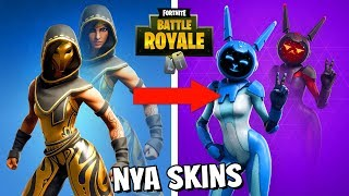 HERE ARE ALL UNRELEASED SKINS COMING TO FORTNITE BATTLE ROYALE