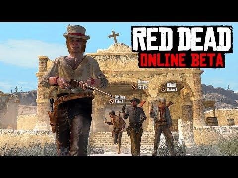 Red Dead Online - NEW LEAKS! First Image, RPG Elements, Story Missions, Modes & Release Date?!
