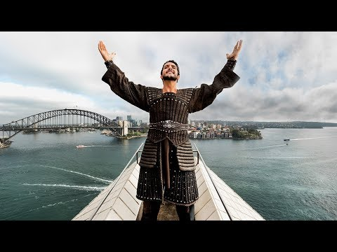 Turandot | Andeka Gorrotxategi sings 'Nessun Dorma' on top of the Sydney Opera House