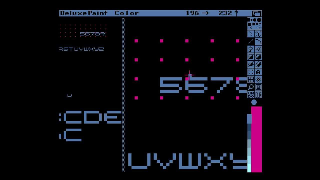 Amiga Hardware Programming 16 - draw a font, part 1