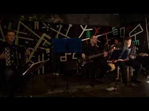 MAIN STREET (французский аккордеон) - BLUE BOSSA (Массолит 09.01.2015)(jazz accordion)