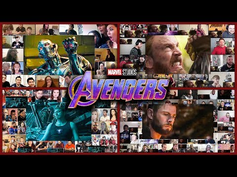 All Trailers of AVENGERS Reactions Mashup (Age of Ultron, Civil War, Infinity War, Endgame)