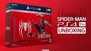 Spider-Man PS4 Pro Bundle —Unboxing and Thoughts On The Game [4K]