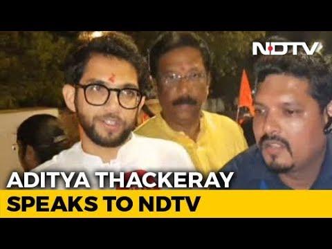 Shiv Sena's Aditya Thackeray On The Campaign Trail