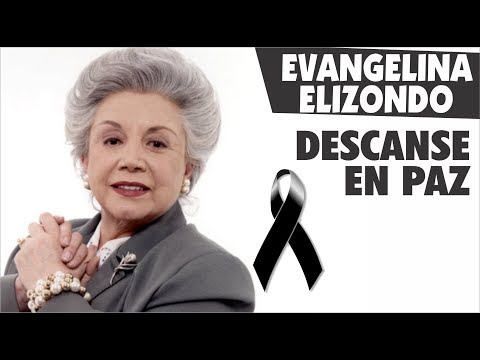 Descanse en paz Doña Evangelina Elizondo