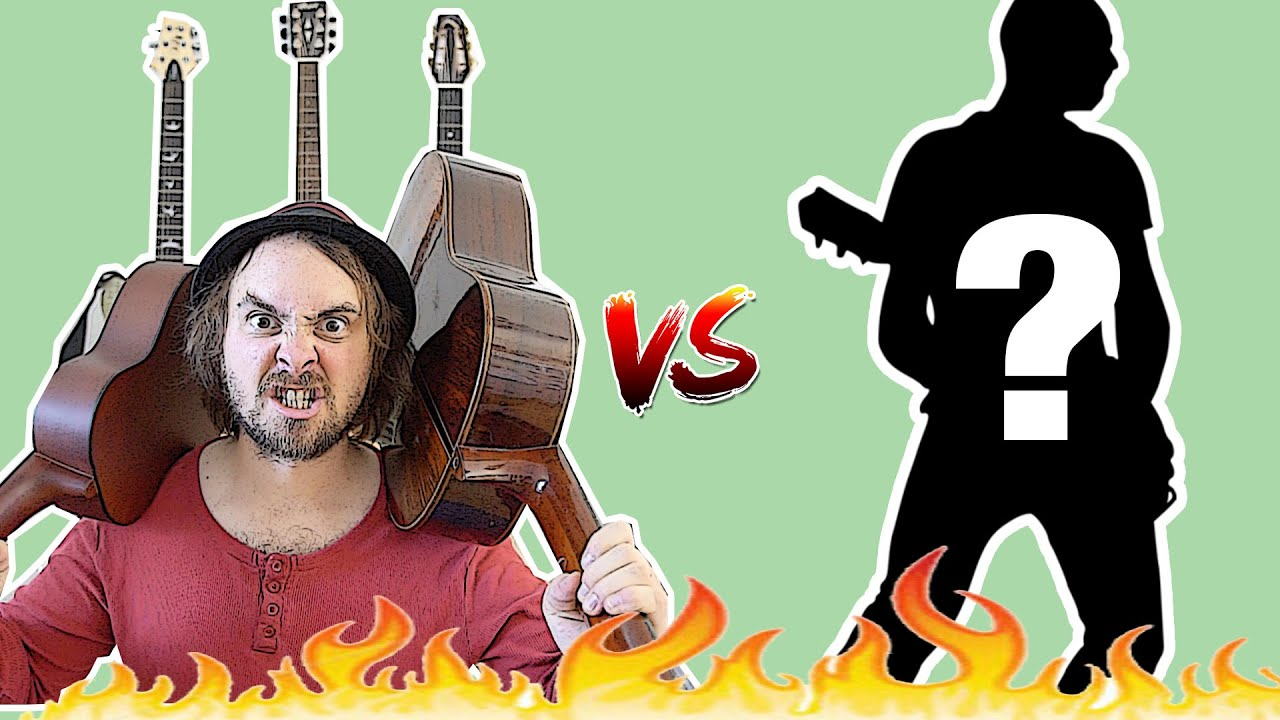 GUITAR BATTLE: Classical meets Jazz, and let's not forget the....