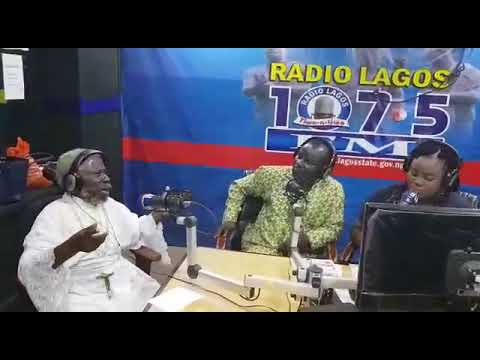 A snippet of the interview on Radio Lagos with the Primate M.A Hassan  (L.J.P) on Thursday 30th Nove