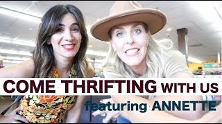 COME THRIFT WITH US AT GOODWILL// FEATURING ANNETTE FROM A VINTAGE SPLENDOR