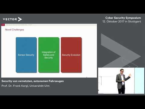 Security von vernetzten, autonomen Fahrzeugen