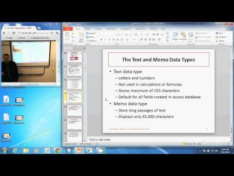 APP 126 - The Text And Memo Data Types