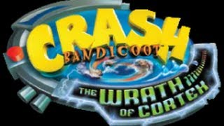 Classic PS2 Game Crash Bandicoot The Wrath of Cortex on PS3 in HD 1080p