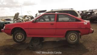 1987 Mitsubishi Cordia