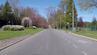 Touring UBC (The University of British Columbia) in Vancouver Canada - Entrance and Golf Course thumbnail