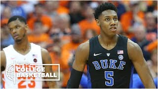RJ Barrett's 30 points help Duke avenge loss to Syracuse | College Basketball Highlights
