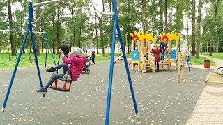 Открытие детской площадки на улице Суворова