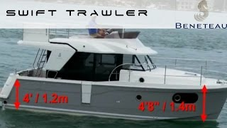Beneteau Swift Trawler 30   Test by BoatTest.com